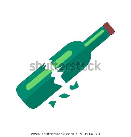 Разбитая бутылка Сток-фото © robuart
