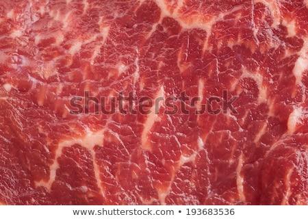 ストックフォト: 生 · 肉 · 食品 · ディナー · 料理