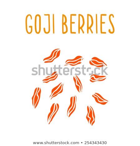 goji berry 10 Stock photo © LianeM