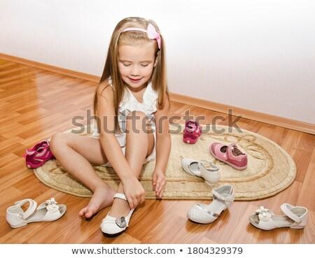 Room Shoes Stock photo © zhekos