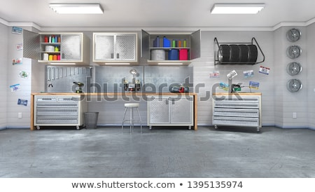 Garage Storage Stock photo © THP