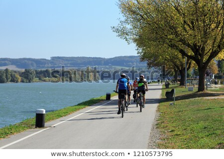 Danube riverbank Stock photo © simply