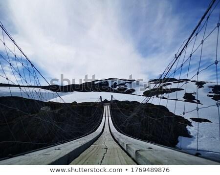 エンドレス 橋 黒 ストックフォト © bjorn_van_der_me