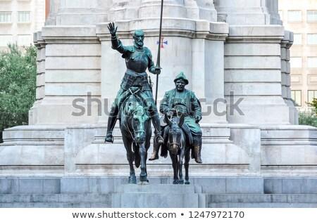 cervantes monument stock photo © vwalakte