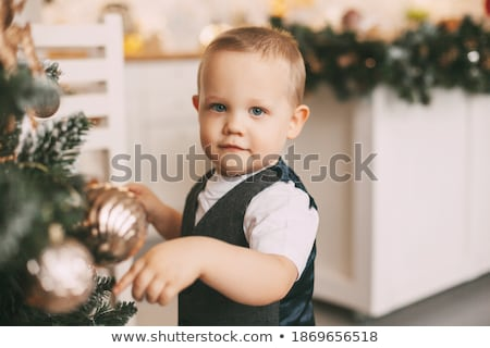 Little baby boy Stock photo © maros_b