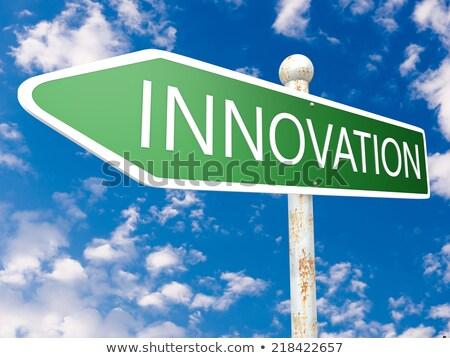 innovation street sign stock photo © stevanovicigor
