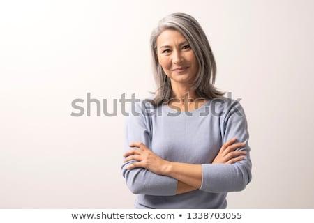 нежный женщины портрет студию роскошь Сток-фото © Anna_Om