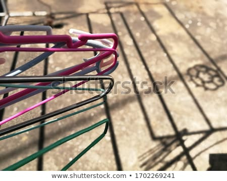 Rural Cloakroom with Clothes Stock photo © tepic