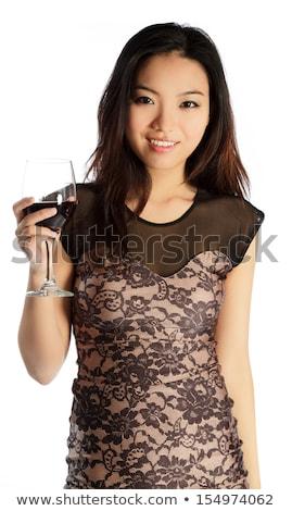 Vonzó ázsiai lány 20 évek öreg Stock fotó © bmonteny