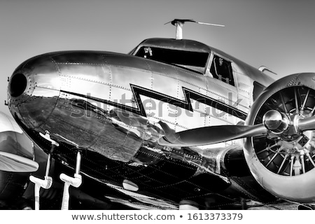 Avião branco modelo isolado viajar motor Foto stock © InTheFlesh