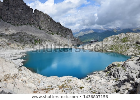 Monticello Lake - Tonale pass Stock photo © Antonio-S
