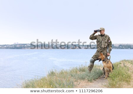 binocular by the coast stock photo © olandsfokus