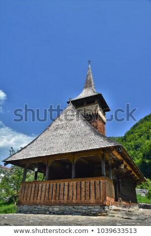 Sub Piatra Church Stock photo © igabriela