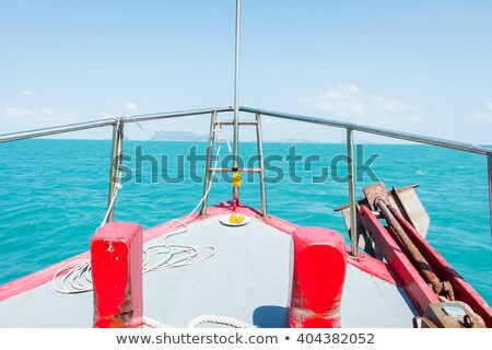 Pirate-style passenger ship in Thailand Stock photo © Mps197
