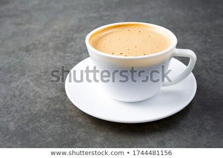 Close up of hot frothy latte Stock photo © wavebreak_media