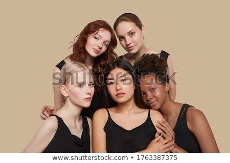 Beauté photo brunette dame portrait Photo stock © oleanderstudio