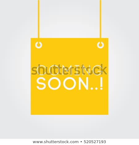 New Arrival Yellow Vector Icon Button Stock photo © rizwanali3d