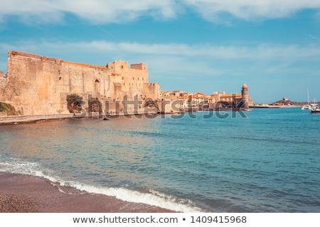 Collioure harbour, Languedoc-Roussillon, France Stock photo © phbcz