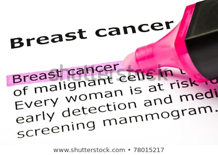 breast cancer pink marker stock photo © ivelin