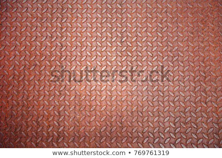 Stock photo: Abstract corroded metal plate texture