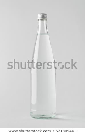 соды воды стекла бутылку изолированный белый Сток-фото © ozaiachin