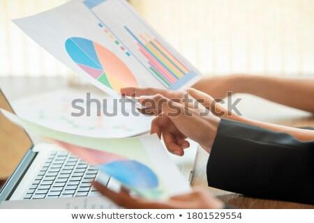 During discussion Stock photo © pressmaster