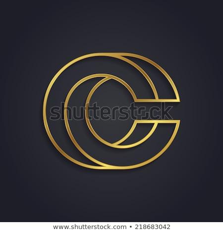 商業照片: 抽象 · 符號 · 字母c · 設計 · 圖標 · 藝術