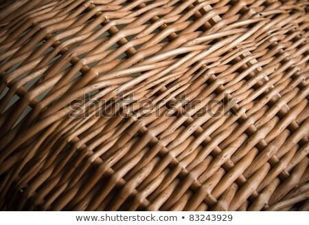 Rectangle Woven Wicker Basket Stock photo © Digifoodstock