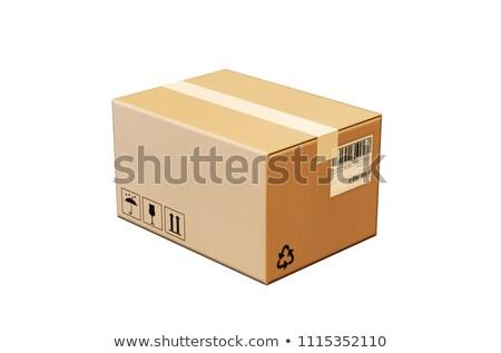 3D · pacote · branco · globo · comunicação · recipiente - foto stock © tussik