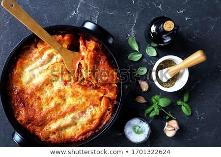 carne · de · vacuno · pasta · comida · nadie · cocina - foto stock © m-studio
