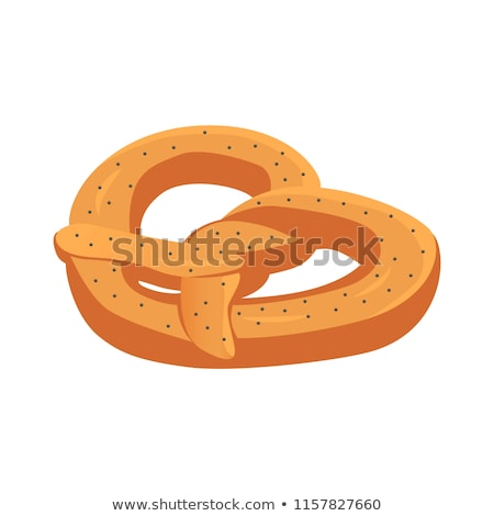 Pretzels Traditional Meal Vector Illustration Stock photo © robuart
