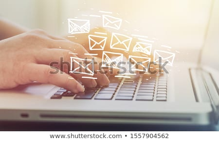 Business communication  and email marketing. Stock photo © cifotart