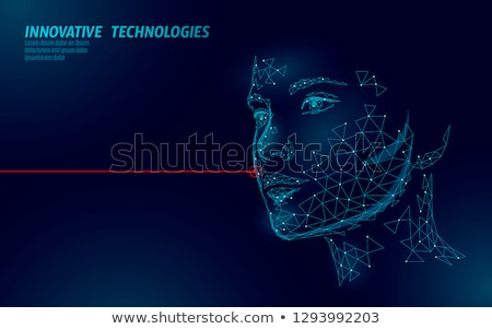 Cosmetician and Facial Cosmetic Procedures Vector Stock photo © robuart