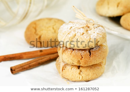 Polvoron - Spanish shortbread Stock photo © Alex9500