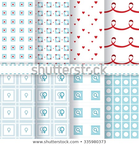 contraception day set pattern stock photo © netkov1