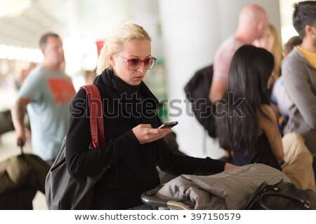 Queue in lounge Stock photo © pressmaster
