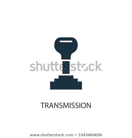 Car transmission icon - gearshift symbol for car transmission re Stock photo © gomixer
