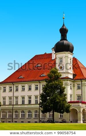 Belediye binası Almanya ana kare saat seyahat Stok fotoğraf © borisb17