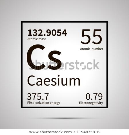 化学 最初 エネルギー アトミック 質量 ストックフォト © evgeny89