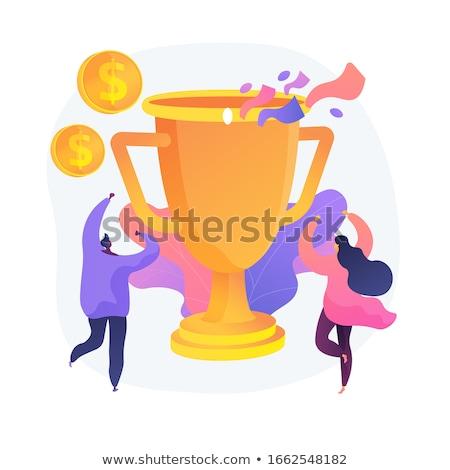 Premie cash belonen vector metafoor bonus Stockfoto © RAStudio