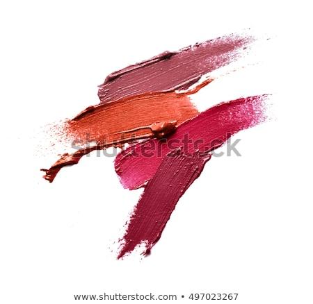 Crushed pink make-up line Stock photo © goir