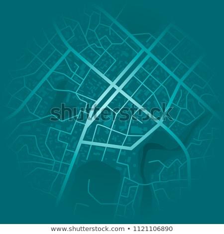 City concept map  Stock photo © Elmiko