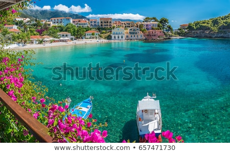 coastal scenery in Greece Stock photo © prill