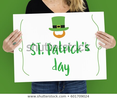 modern st patricks day girl stock photo © indiwarm