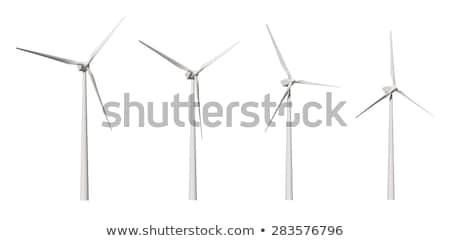 Wind Turbine with path Stock photo © REDPIXEL