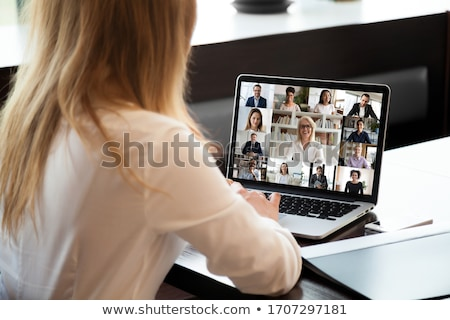 Young man and older woman using a computer Stock photo © photography33