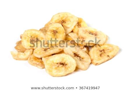 Banana batatas fritas frito fresco saudável Foto stock © Amaviael
