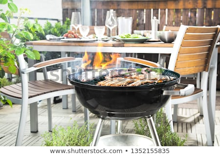 Barbecue on the terrace Stock photo © photography33