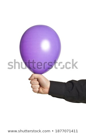 hand holding baloonn stock photo © shutswis