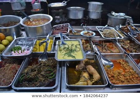 Mianmar birmânia Ásia cozinha caril comida Foto stock © travelphotography